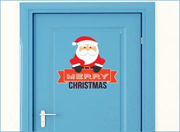 Porta con Babbo Natale