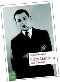 "Copertina ""Piero Manzoni - ""Vita d'artista"""""