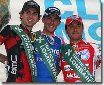 Immagine podio 64^ Coppa Agostoni