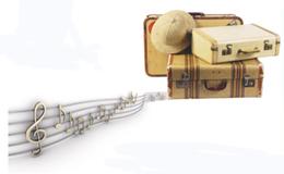 note musicali e bagagli viaggio in musica