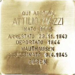 Lissone - Giorno della Memoria 2020  Attilio Mazzi