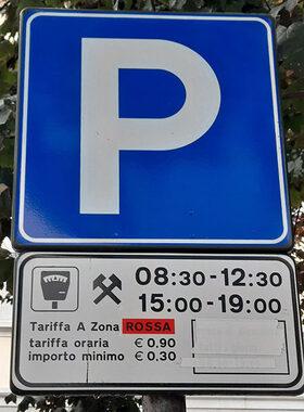 Immagine cartello zona rossa