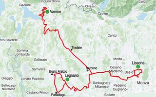 Mappa Trittico Lombardo