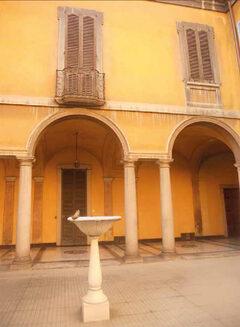 Piccola Corte interna con Fontana