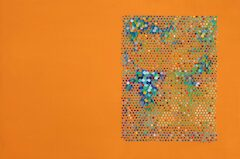 Massimo Kaufmann, Senza titolo, 2019, olio su tela, 80 × 120 cm.